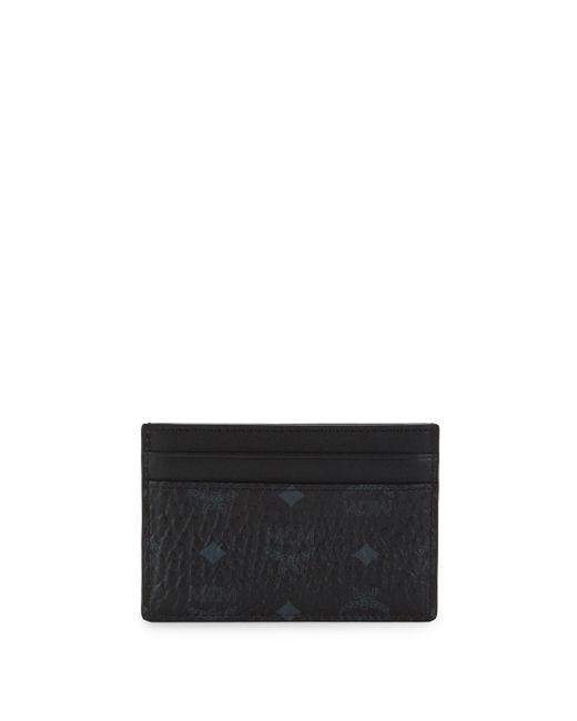 MCM - Black Logo Card Case - Lyst
