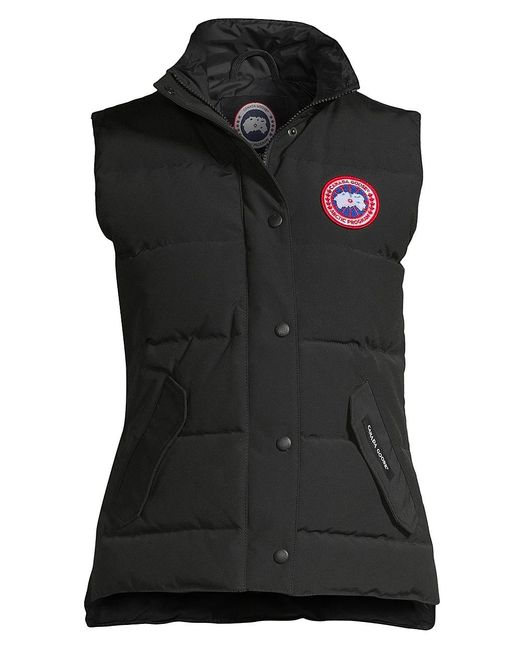 Canada Goose Black Freestyle Vest