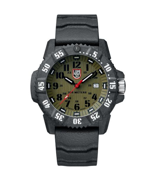 Luminox - Black Carbon Seal Compound Strap Watch for Men - Lyst