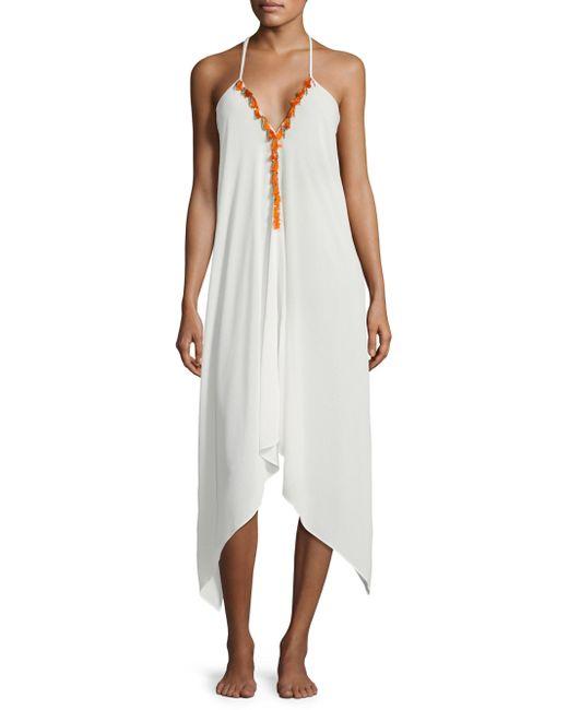 Ramy Brook - White Kym Tasseled Dress - Lyst