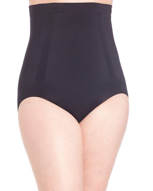 Spanx Black Plus Oncore High-waisted Brief
