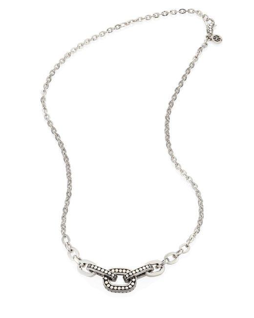 John Hardy - Metallic Dot Sterling Silver Link Necklace - Lyst