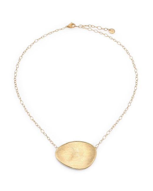 Marco Bicego - Metallic Lunaria 18k Yellow Gold Pendant Necklace - Lyst