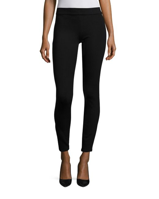 The Row - Black Relma Leggings - Lyst