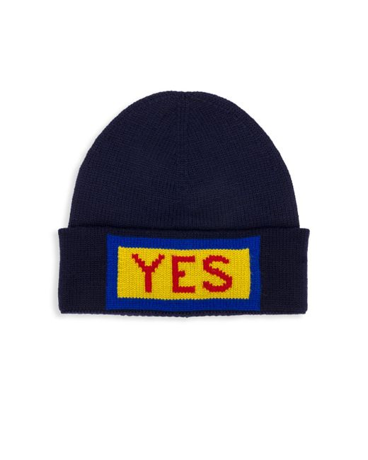 Fendi - Blue Wool Hat for Men - Lyst