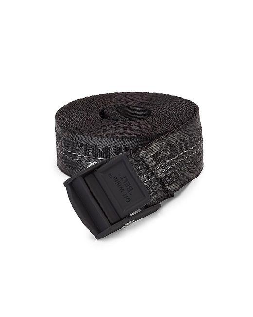Off-White c/o Virgil Abloh Black Mini Industrial Logo Belt
