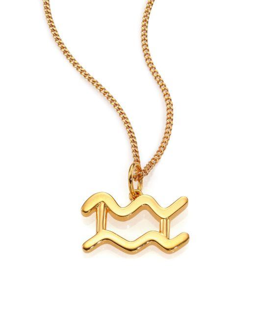 Chloé   Metallic Constellation Long Pendant Necklace   Lyst