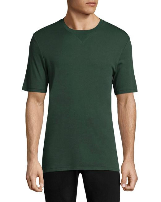 J.Lindeberg   Green Classic Cotton Tee for Men   Lyst