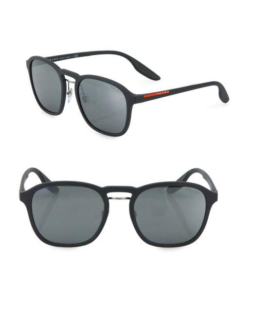 Prada Sport   Gray 55mm Phantos Sunglasses for Men   Lyst