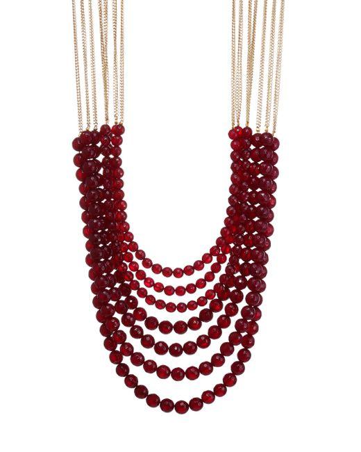 Rosantica - Red Mini Raissa Quartz Necklace - Lyst