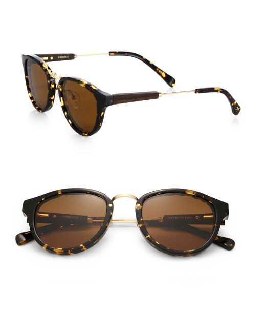 Shwood - Black Ainsworth Round Sunglasses for Men - Lyst