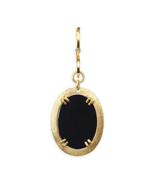 Stephanie Kantis - Metallic Onyx Oval Pendant - Lyst