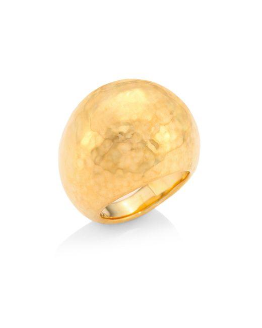 Ippolita - Metallic Glamazon 18k Yellow Gold Dome Ring - Lyst