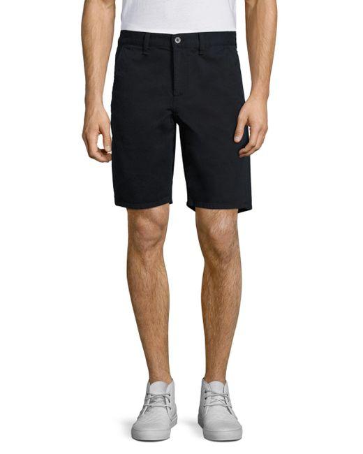 Rag & Bone | Blue Solid Cotton Shorts for Men | Lyst