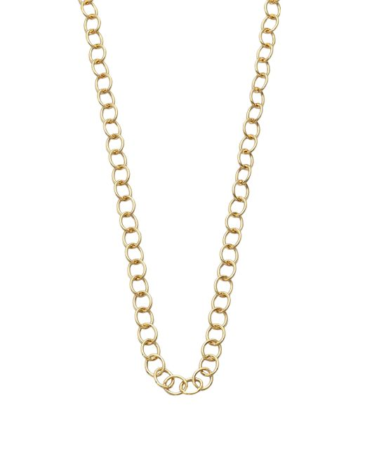 Temple St. Clair - Metallic 18k Yellow Gold Classic Oval Link Necklace Chain/32 - Lyst