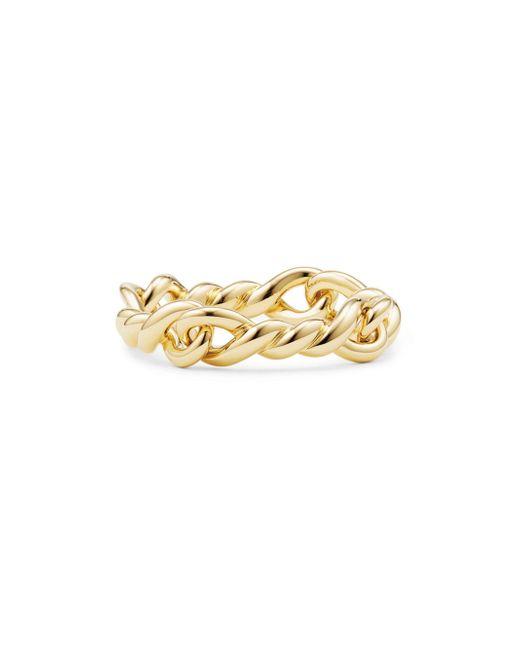David Yurman - Metallic Continuance Ring In 18k Gold - Lyst