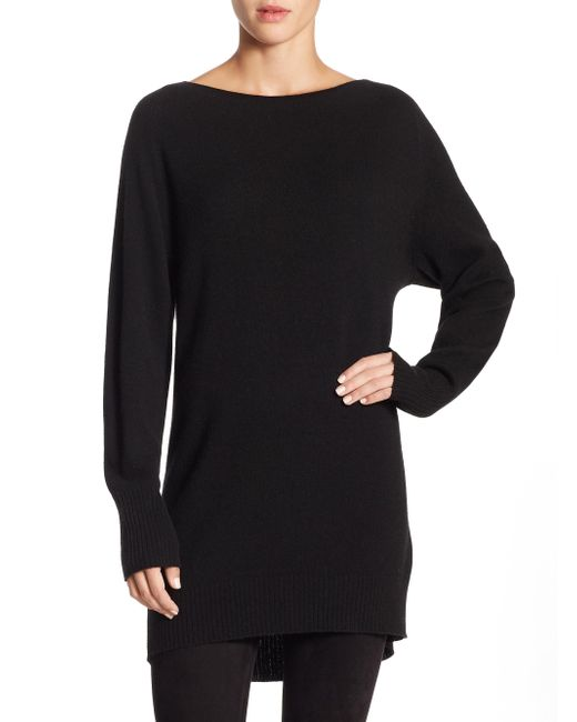 Vince | Black Oversized Sweater | Lyst
