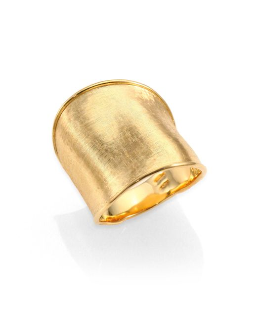 Marco Bicego - Metallic Lunaria 18k Yellow Gold Large Band Ring - Lyst