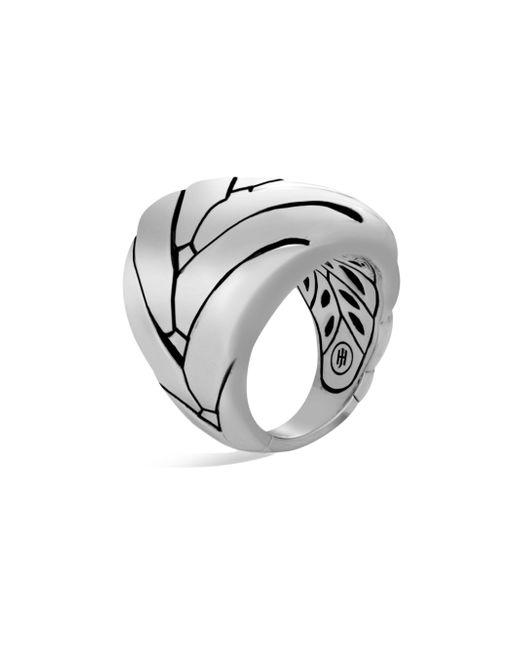 John Hardy - Metallic Modern Chain Sterling Silver Large Ring - Lyst