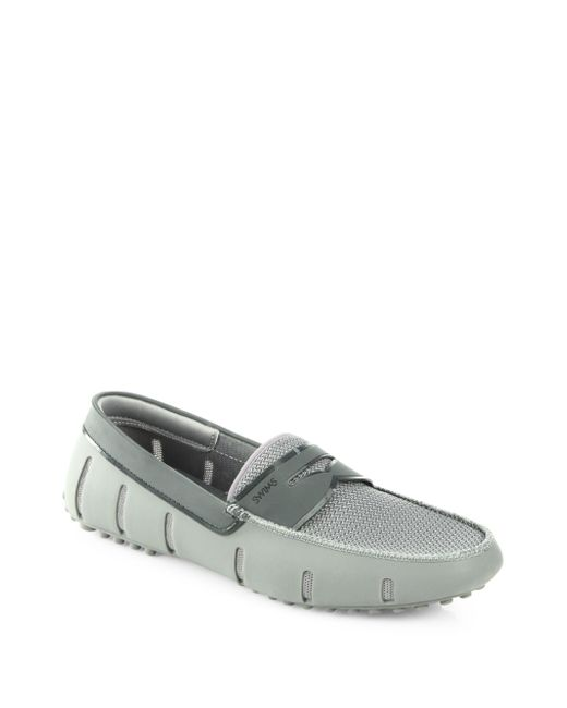 Swims | Gray Penny Loafers for Men | Lyst