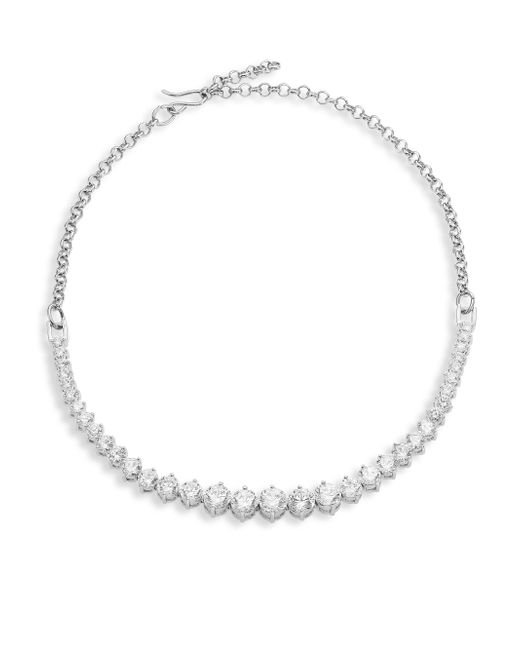 Fallon | Metallic Monarch Graduated Crystal Choker | Lyst