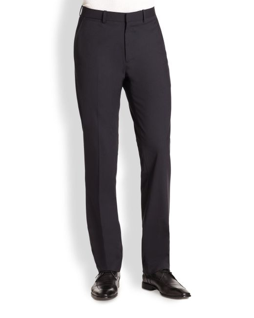 Theory - Black Marlo New Tailor Dress Pants for Men - Lyst