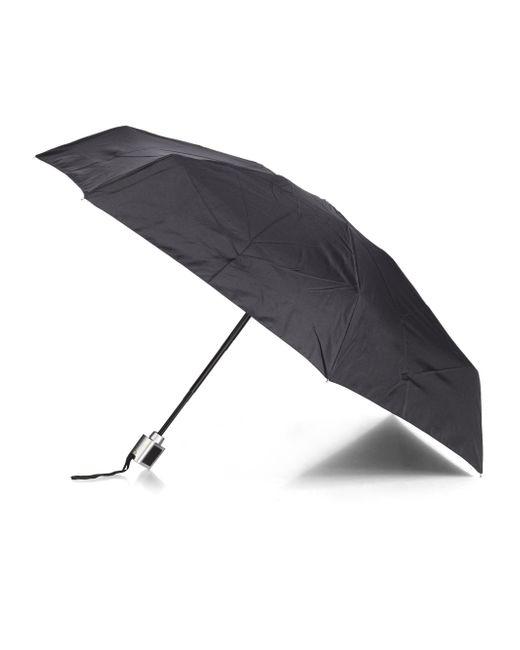 Saks Fifth Avenue | Black Fold-flat Umbrella | Lyst