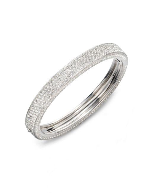Adriana Orsini | Metallic Pave Sparkle Bracelet | Lyst