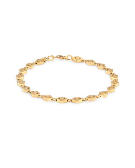 Sydney Evan - Metallic 14k Yellow Gold Eye Pendant Bracelet - Lyst