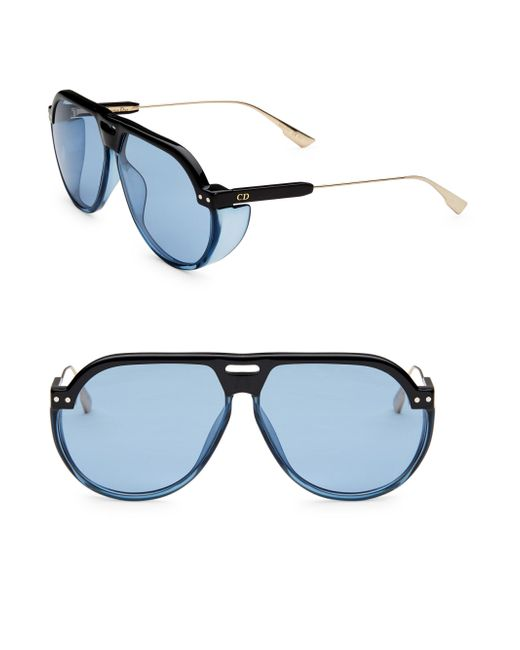 Dior - Blue Club 3s 61mm Pilot Sunglasses - Lyst
