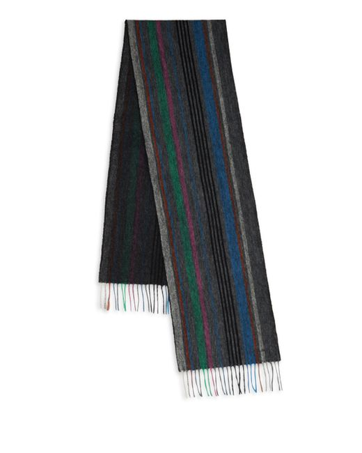 Paul Smith - Multicolor Wool College Scarf for Men - Lyst