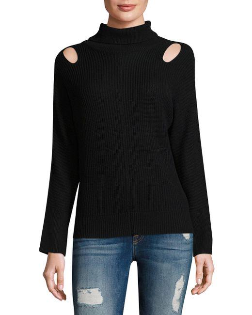 Ella Moss | Black Riley Sweater | Lyst