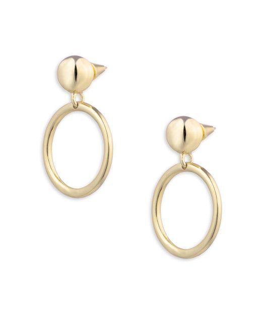 Eddie Borgo | Metallic Small Sphere Hoop Earrings/1 | Lyst