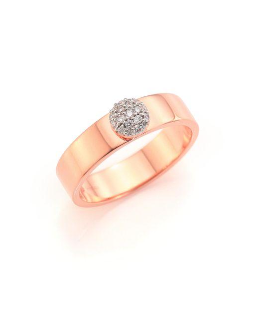 Phillips House | Metallic Affair Diamond & 14k Rose Gold Ring | Lyst