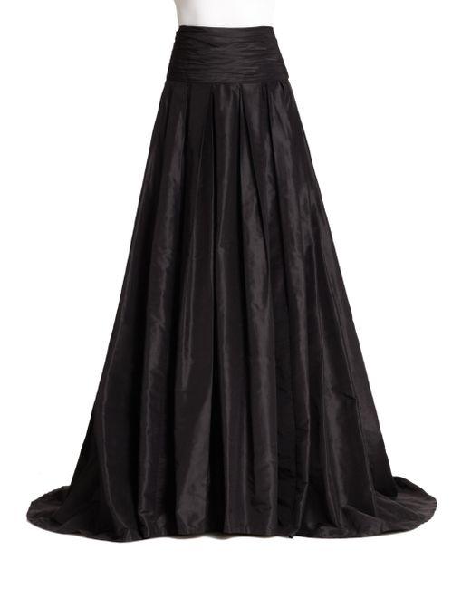 Carolina Herrera - Black Icon Collection Silk Cummerbund Ball Gown Skirt - Lyst