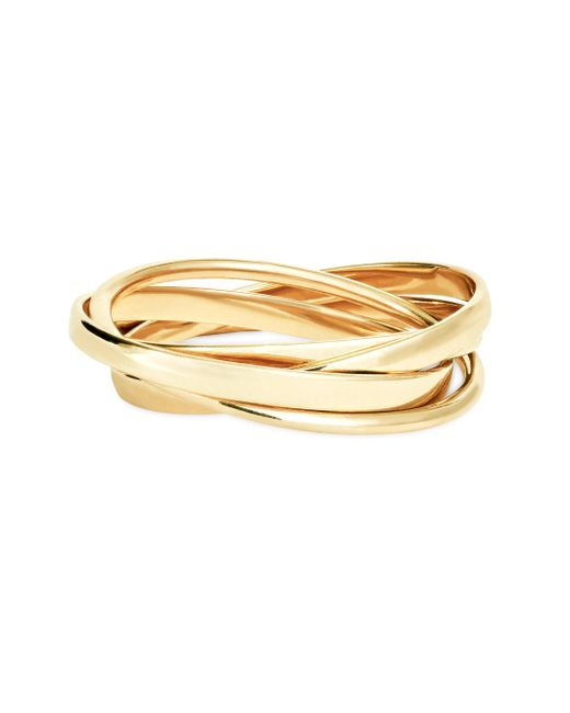 Lana Jewelry | Metallic 15-year Anniversary 14k Yellow Gold Small Ring Set | Lyst
