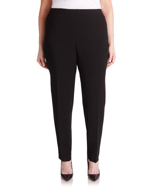 Lafayette 148 New York | Black Slim-fit Bleecker Pants | Lyst