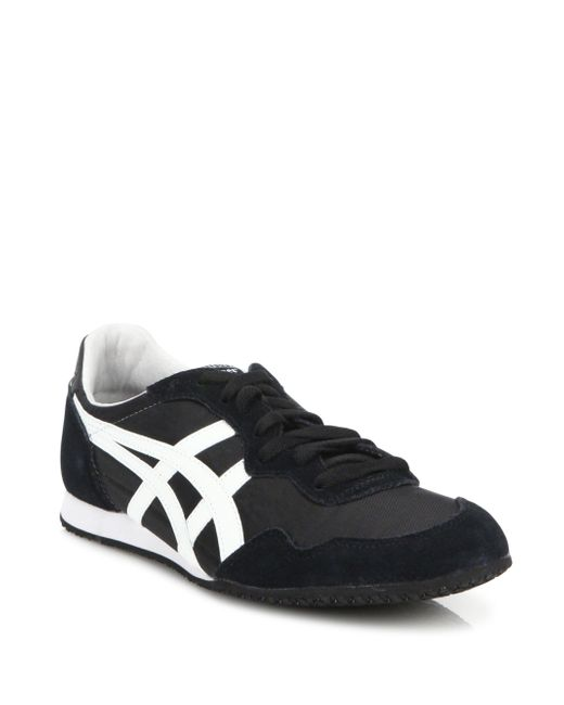 Onitsuka Tiger | Black Serrano Suede Sneakers for Men | Lyst