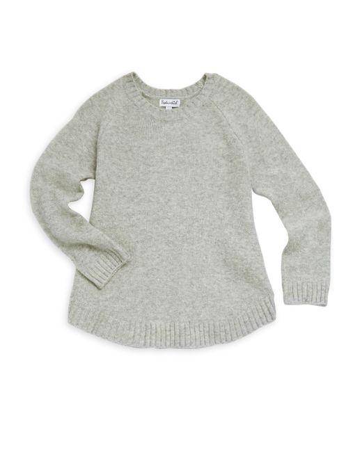Splendid   Gray Girl's Long-sleeve Poncho Top   Lyst