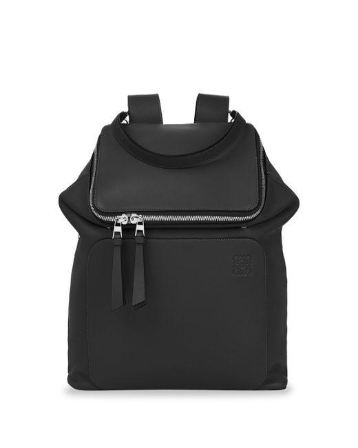 Loewe - Black Goya Leather Backpack for Men - Lyst