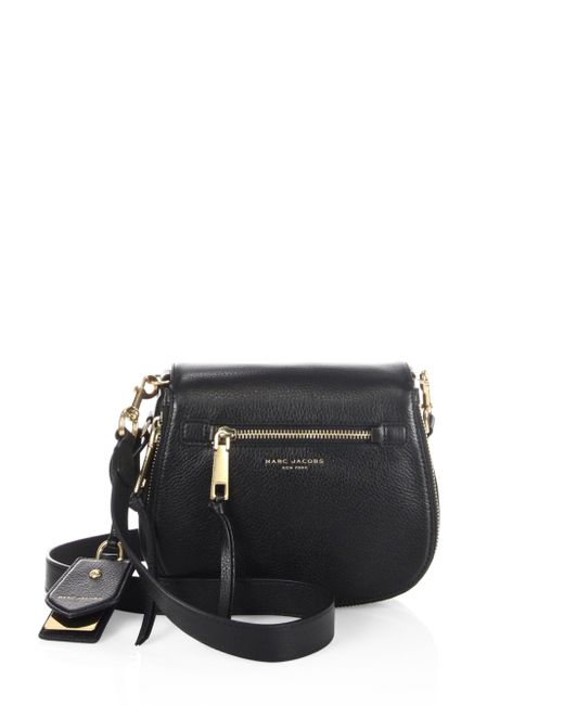Marc Jacobs - Green Small Leather Saddle Bag - Lyst