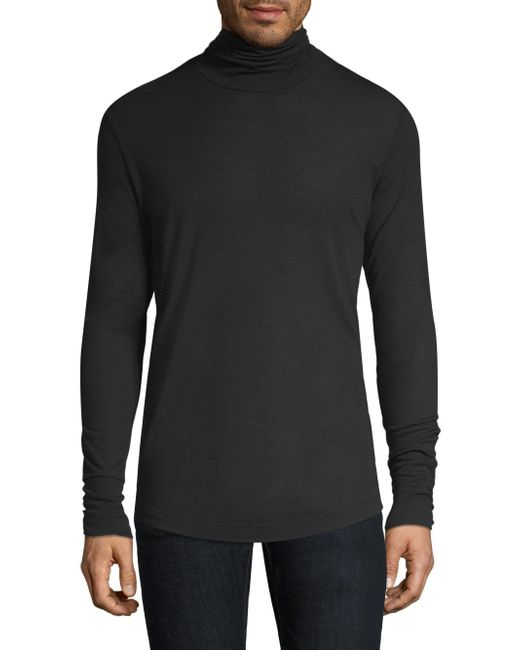 Theory - Black Turtleneck Sweater for Men - Lyst