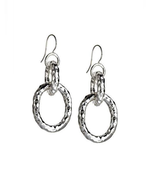 Ippolita | Metallic Glamazon Sterling Silver Bastille Link Drop Earrings | Lyst