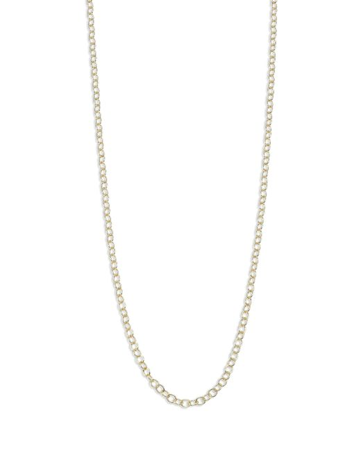 Temple St. Clair - Metallic 18k Yellow Gold Round-link Chain/32 - Lyst