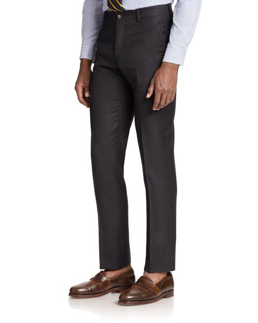 Polo Ralph Lauren - Gray Wool Twill Trousers for Men - Lyst