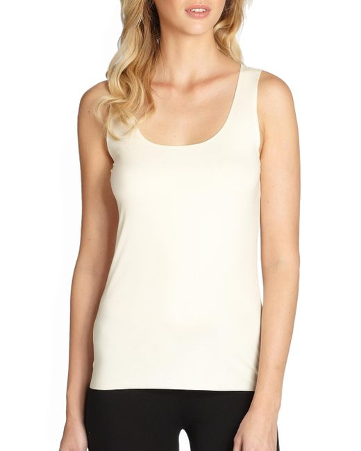 Wolford - White Pure Tank Top - Lyst