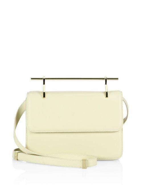 M2malletier | White La Fleur Du Mal Leather Crossbody Bag | Lyst