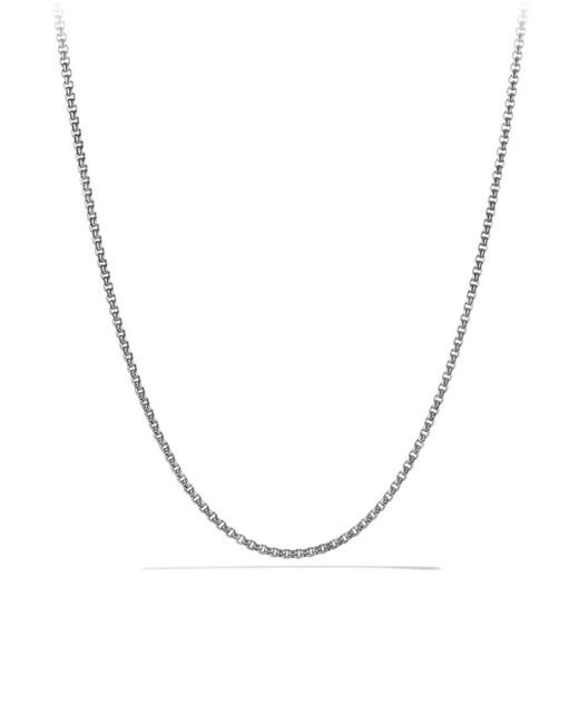 David Yurman - Metallic Gray Titanium And Sterling Silver Chain Necklace for Men - Lyst