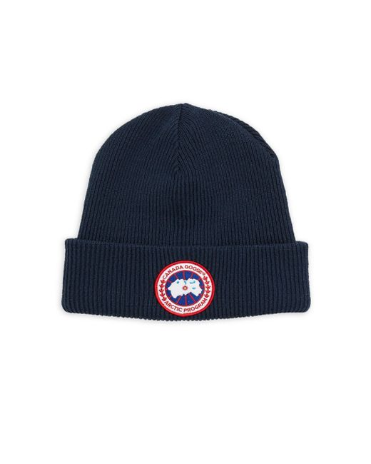 Canada Goose | Blue Arctic Wool Beanie for Men | Lyst
