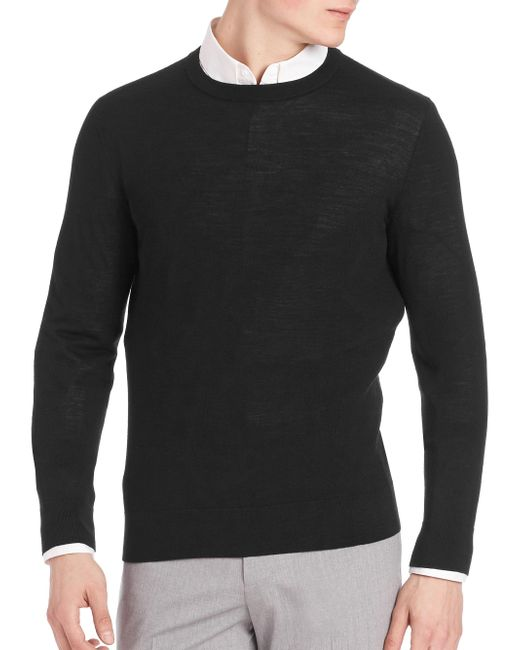 Theory | Black Riland New Sovereign Sweater for Men | Lyst